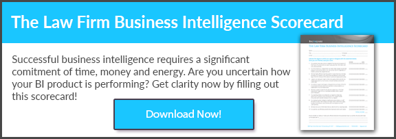 The Law Firm Business Intelligence Scorecard
